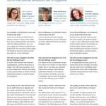 Interview Jahresbericht Stiftung Lesen