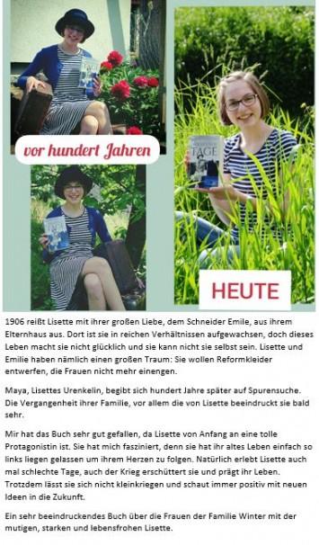 Lieblingsbuch Lara-Sophie Ganß