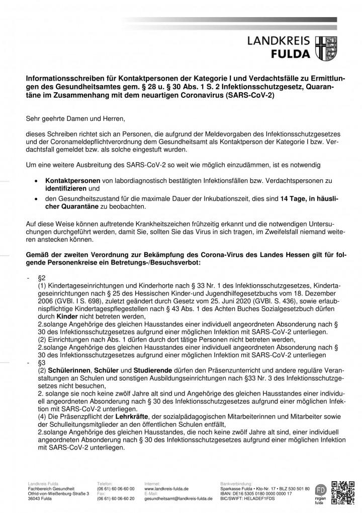 Merkblatt Quarantäne Schule-1