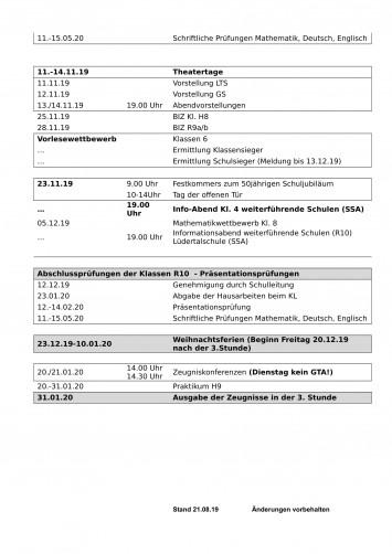 Terminplan 1.HJ-2